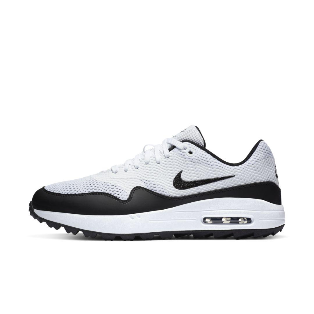 Nike Air Max 1 G Men's Golf Shoe Size 12.5 (White) CI7576 ...