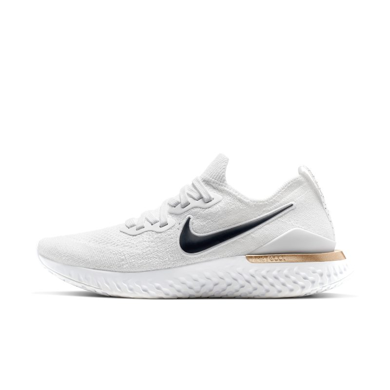 Nike Epic React Flyknit 2 Unité Totale Zapatillas de running - Mujer - Blanco