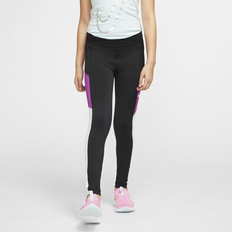 reputación confiable precio bajo 100% autenticado Nike Trophy Mallas de entrenamiento - Niña - Negro