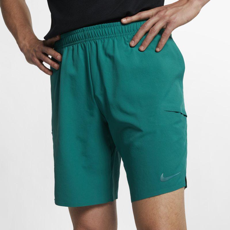 NikeCourt Flex Ace 23 cm Erkek TenisŞortu  CJ0539-340 -  Yeşil XL Beden Ürün Resmi