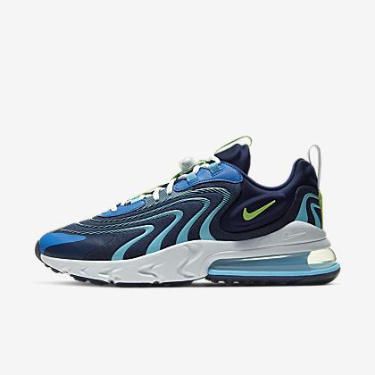 Nike Air Max 270 React ENG Laser Blue | 43einhalb Sneaker Store