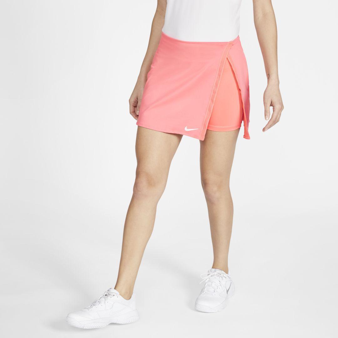 Nikecourt Dri Fit Women S Tennis Skirt Size Xl Pink Sunblush Cj0944 655 Sportspyder Το ανάλαφρο, ελαστικό ύφασμα και η γραμμή α εξασφαλίζουν την άνεση και την ευκ. sportspyder