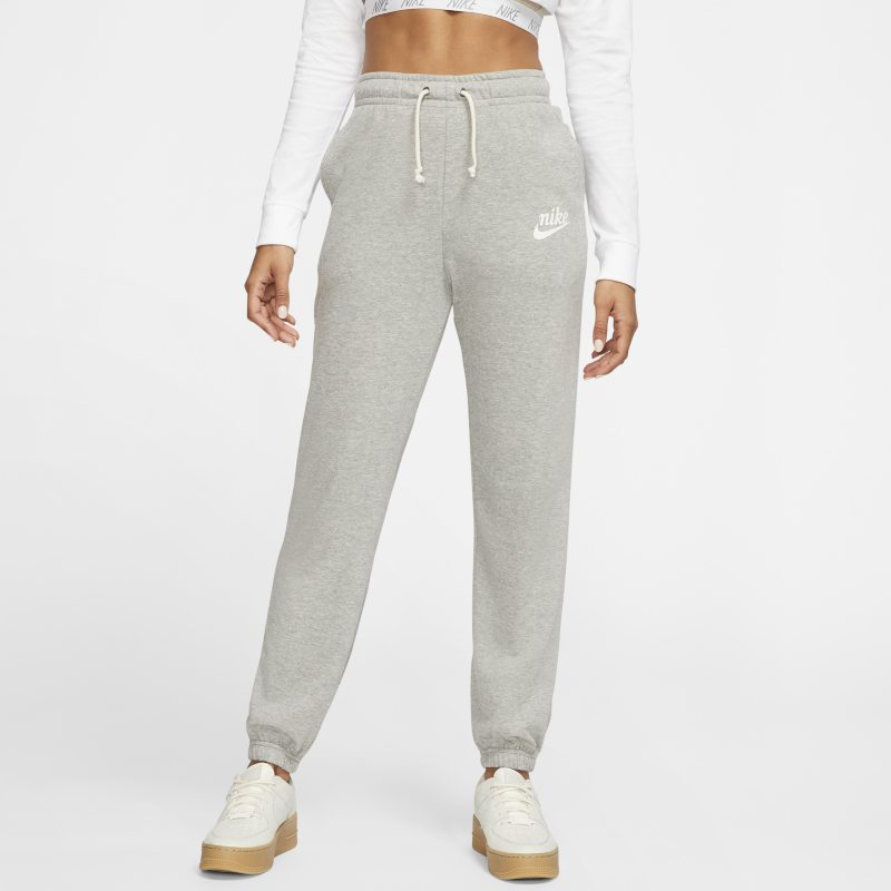 Nike Nike Sportswear Gym Vintage womens Trousers - Grey