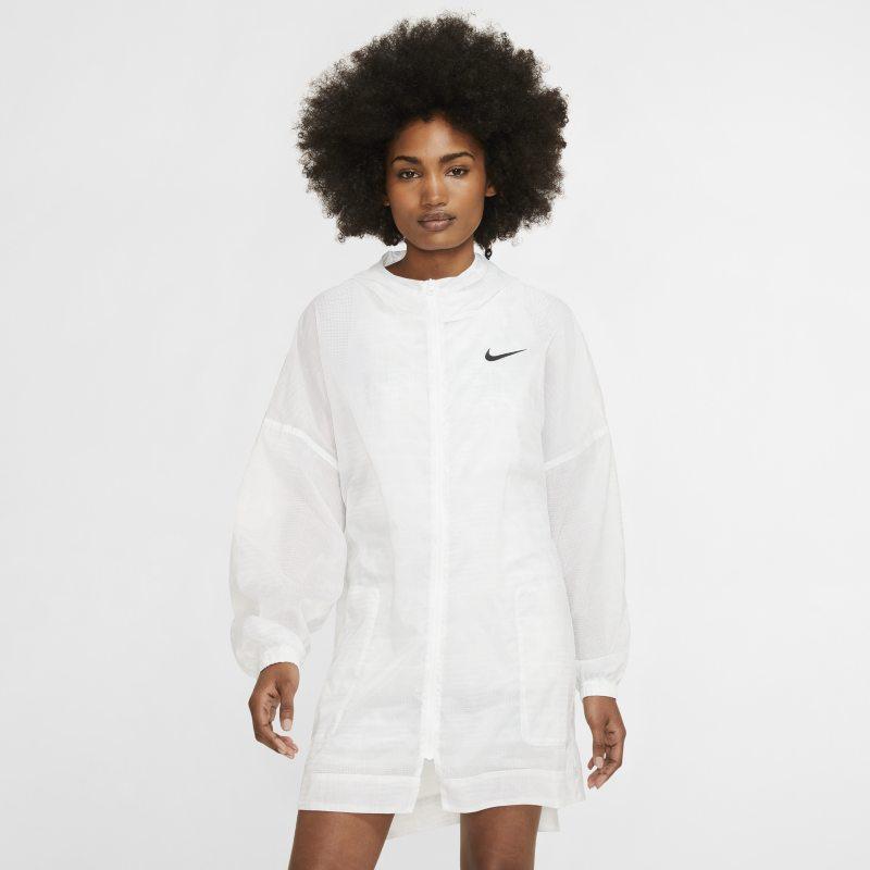 Nike Sportswear Geweven damesjack - Wit