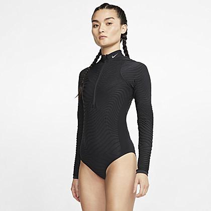 Hang Ten women Ladies' Rash Guard, Long sleeve, XS XL