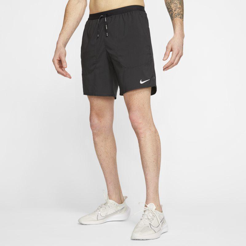 Nike Flex Stride Hardloopshorts met binnenbroek voor heren - Zwart