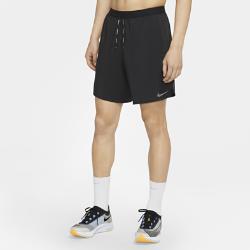 ナイキ フレックス ストライド メンズ ランニングショートパンツ (インナー付き) CJ5460-010 ブラックの画像