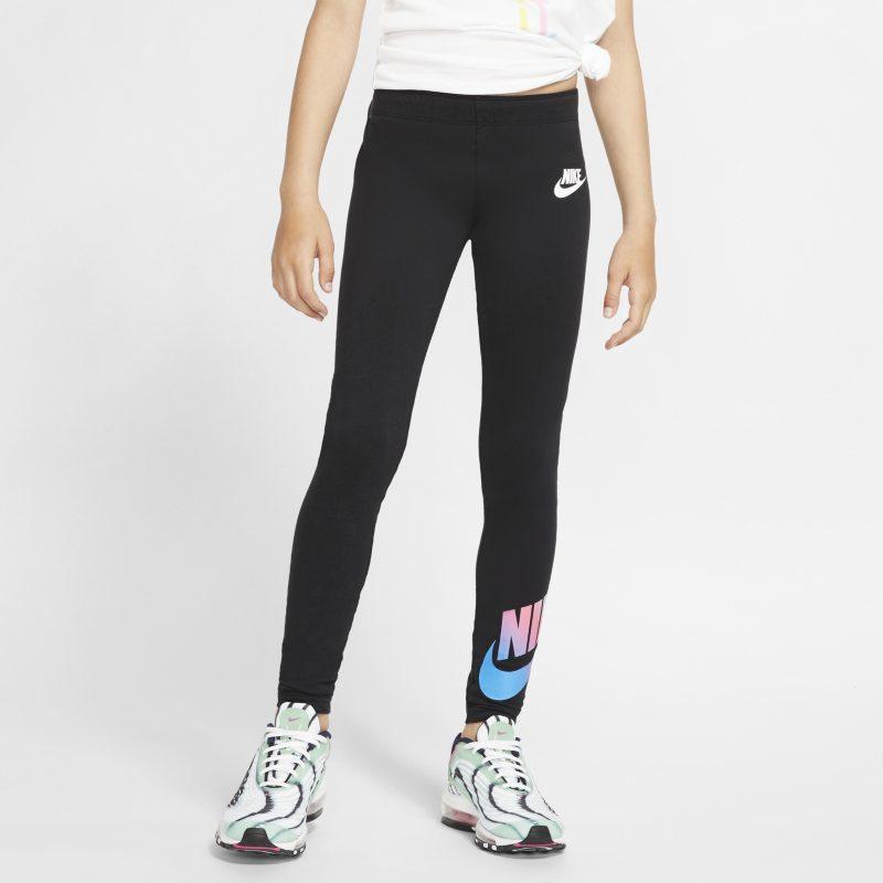 Nike Sportswear Leggings - Niña - Negro