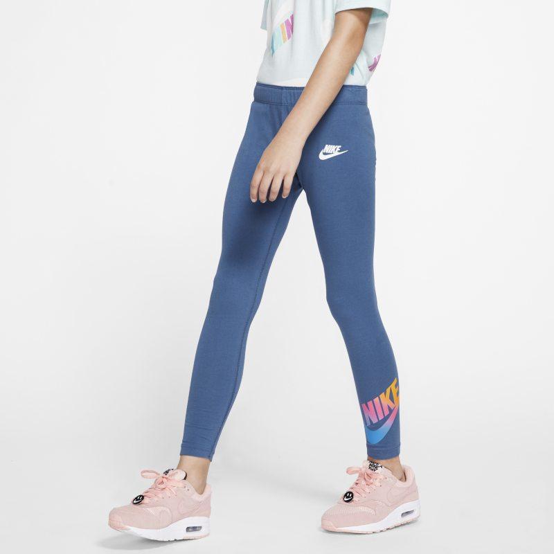 Nike Sportswear Leggings - Niña - Azul