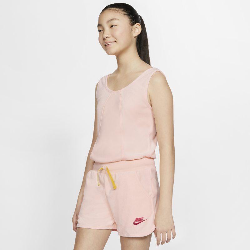 Nike Sportswear Heritage Peto - Niña - Rosa