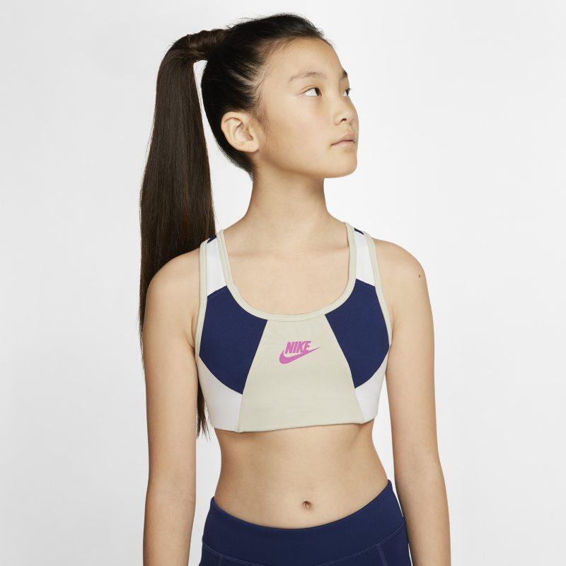 Nike Sujetador deportivo - Niña - Blanco