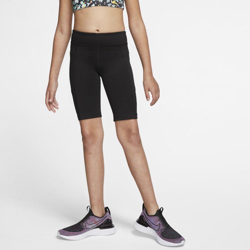Nike Trophy Trainingsshorts voor wielrennen voor meisjes - Zwart