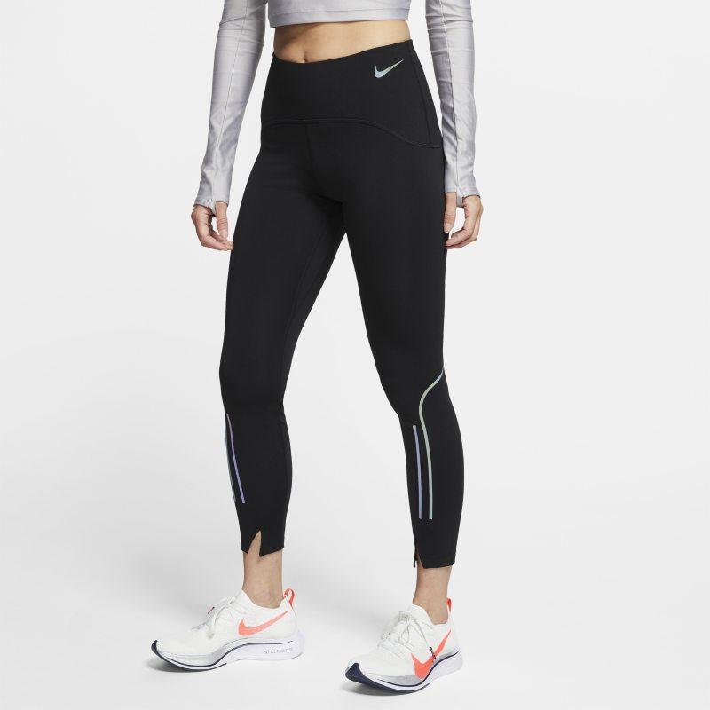 Nike Speed 7/8-hardlooptights voor dames - Zwart