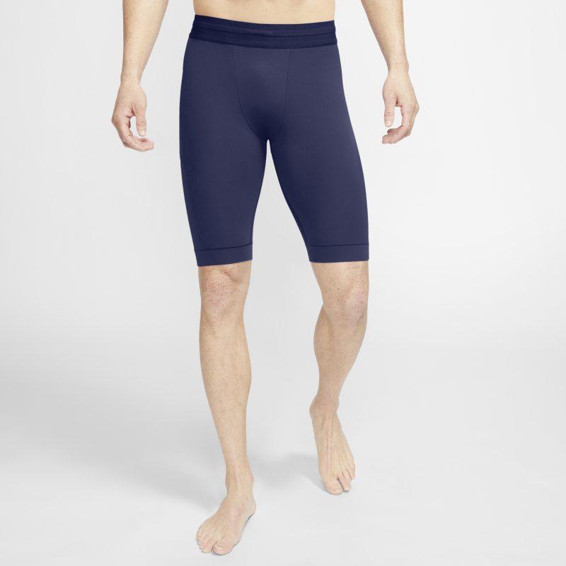 Nike Yoga Dri-FIT Herenshorts van Infalon - Blauw