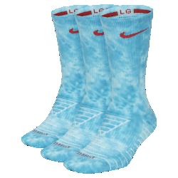 <ナイキ(NIKE)公式ストア>ナイキ エブリデイ マックス クッション クルー ソックス (3足) CK0415-100 ホワイト ★30日間返品無料 / Nike+メンバー送料無料!画像
