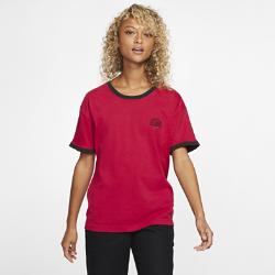 お買得!2019年12月発売 15%OFF!<ナイキ(NIKE)公式ストア>ハーレー x カーハート リンガー ウィメンズ Tシャツ CK0811-687 レッド画像
