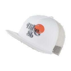 お買得!2019年秋冬発売 36%OFF!<ナイキ(NIKE)公式ストア>ナイキ SB スケートボード トラッカー キャップ CK1774-133 クリーム画像