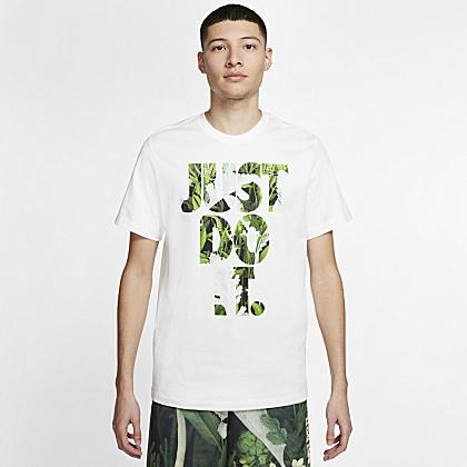 Nike Floral JDI T shirt Black