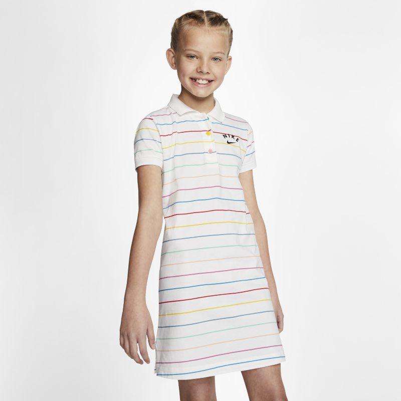 Nike Sportswear Meisjesjurk - Wit