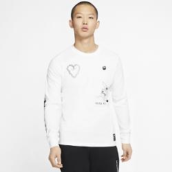 最新2020年2月新着!ナイキ スポーツウェア メンズ ロングスリーブ Tシャツ CK2984-100 ホワイトの画像