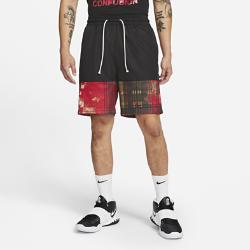 カイリー メンズ ナイキ バスケットボール プリンテッド ショートパンツ CK6760-673 レッドの画像
