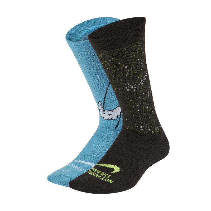 Nike Everyday Lichte crew sokken voor kids (2 paar) - Meerkleurig
