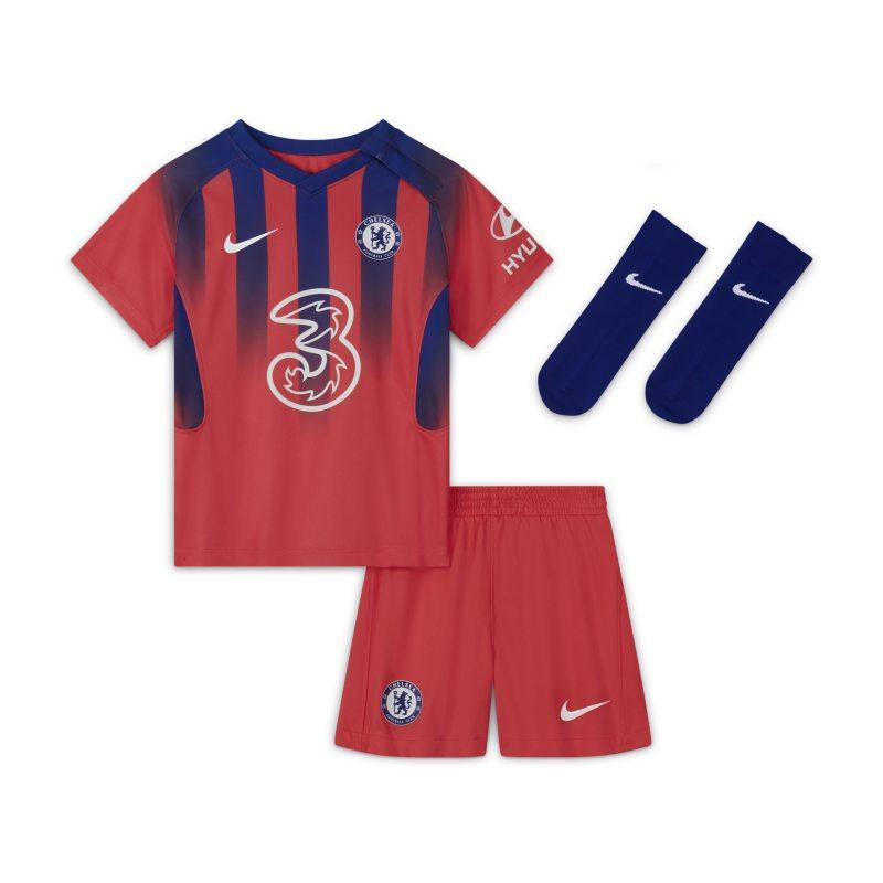 Chelsea FC 2020/21 Derde Voetbaltenue voor baby's/peuters - Rood