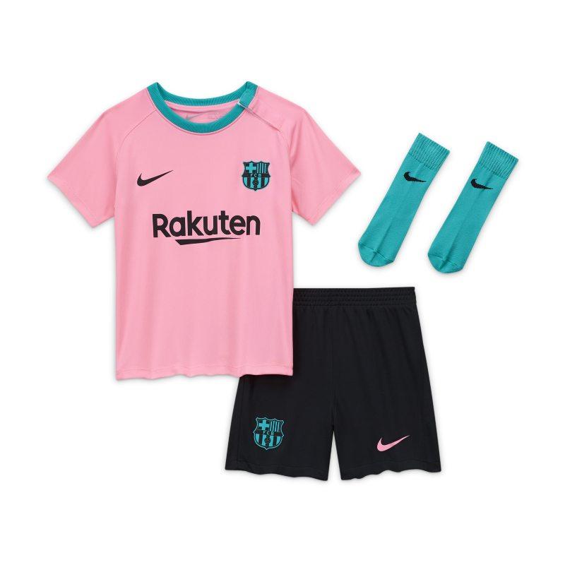 FC Barcelona 2020/21 Derde Voetbaltenue voor baby's/peuters - Roze