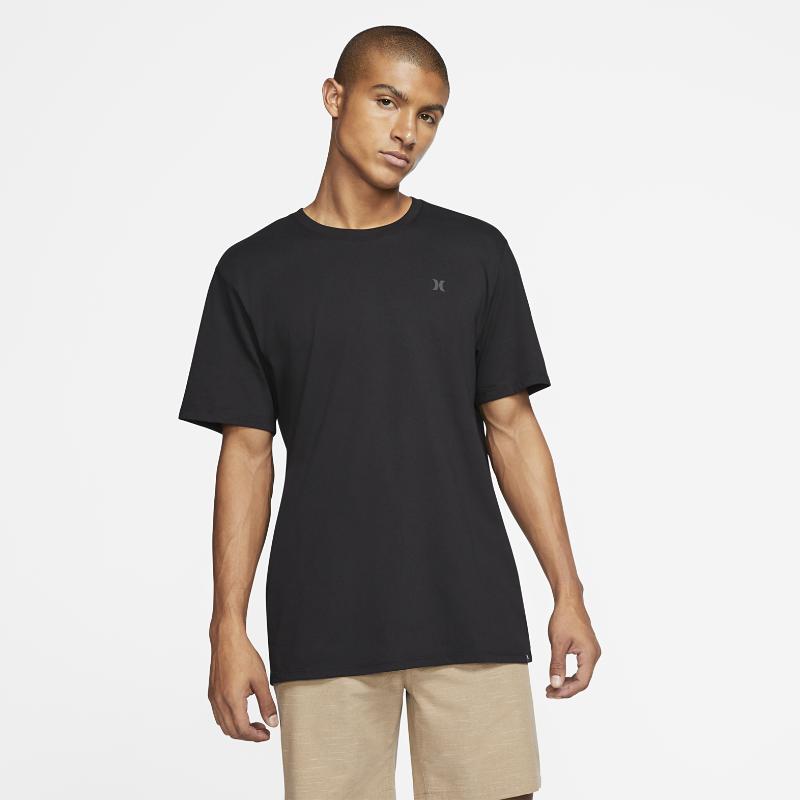最新2020年2月新着!ハーレー Dri-FIT ステープル アイコン リフレクティブ メンズ Tシャツ CN5232-010 ブラックの大画像