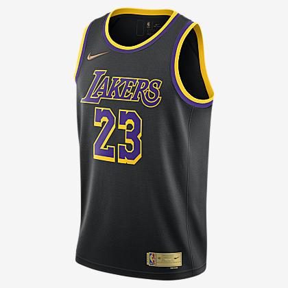 LeBron James Lakers Nike NBA Swingman Jersey. Nike.com