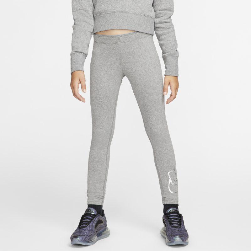 Leggings Nike Sportswear - Ragazza - Grigio
