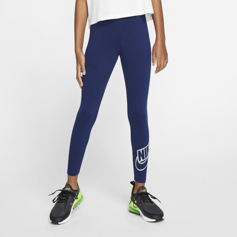 Leggings Nike Sportswear - Ragazza - Blu