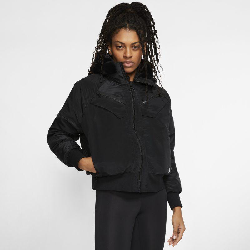 Nike Jordan Womens Reversible Bomber Jacket - Black