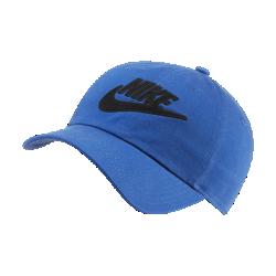 最新2020年2月新着!<ナイキ(NIKE)公式ストア>ナイキ スポーツウェア Heritage86 ウィメンズ アジャスタブル キャップ CQ9222-480 ブルー画像