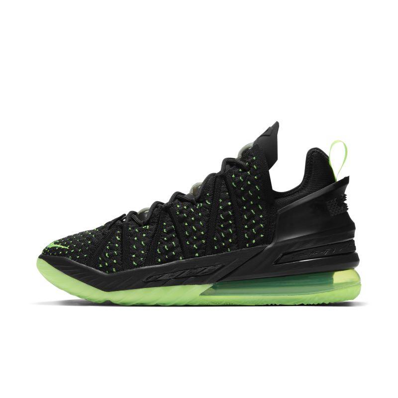 レブロン 18 'Black/Electric Green' バスケットボールシューズ CQ9283-005 ブラックの画像