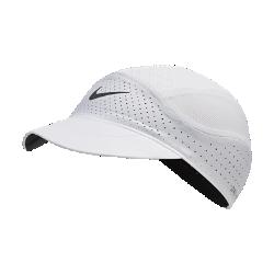 最新2020年2月新着!<ナイキ(NIKE)公式ストア>ナイキ エアロビル テイルウィンド ランニングキャップ CQ9366-100 ホワイト画像