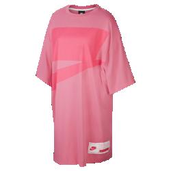 最新2020年2月新着!<ナイキ(NIKE)公式ストア>ナイキ スポーツウェア NSW ウィメンズ オーバーサイズ ショートスリーブ ドレス CT0873-698 ピンク画像