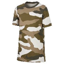 最新2020年2月新着!<ナイキ(NIKE)公式ストア>ナイキ スポーツウェア ジュニア カモ Tシャツ CT2616-072 クリーム画像