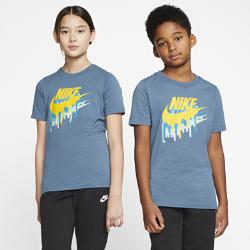 最新2020年2月新着!<ナイキ(NIKE)公式ストア>ナイキ スポーツウェア ジュニア Tシャツ CT2626-418 ブルー画像