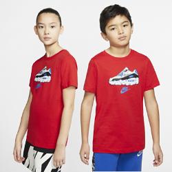 最新2020年2月新着!<ナイキ(NIKE)公式ストア>ナイキ スポーツウェア ジュニア Tシャツ CT2629-657 レッド画像