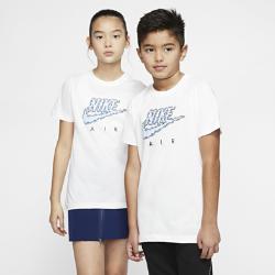 最新2020年2月新着!<ナイキ(NIKE)公式ストア>ナイキ エア ジュニア Tシャツ CT2630-100 ホワイト画像