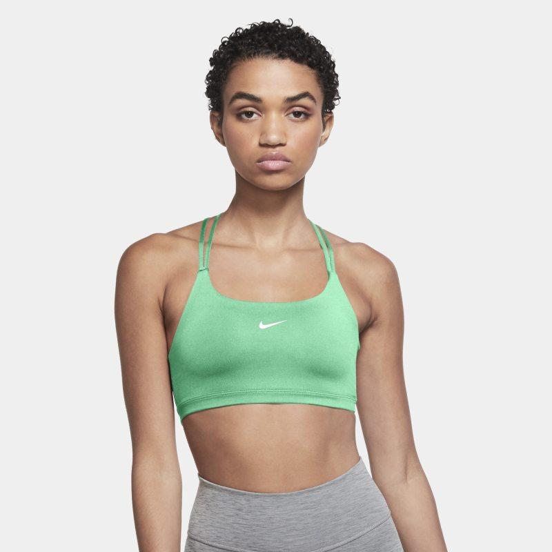 Nike Dri-FIT Indy Sujetador deportivo de sujeción ligera sin acolchado - Mujer - Verde