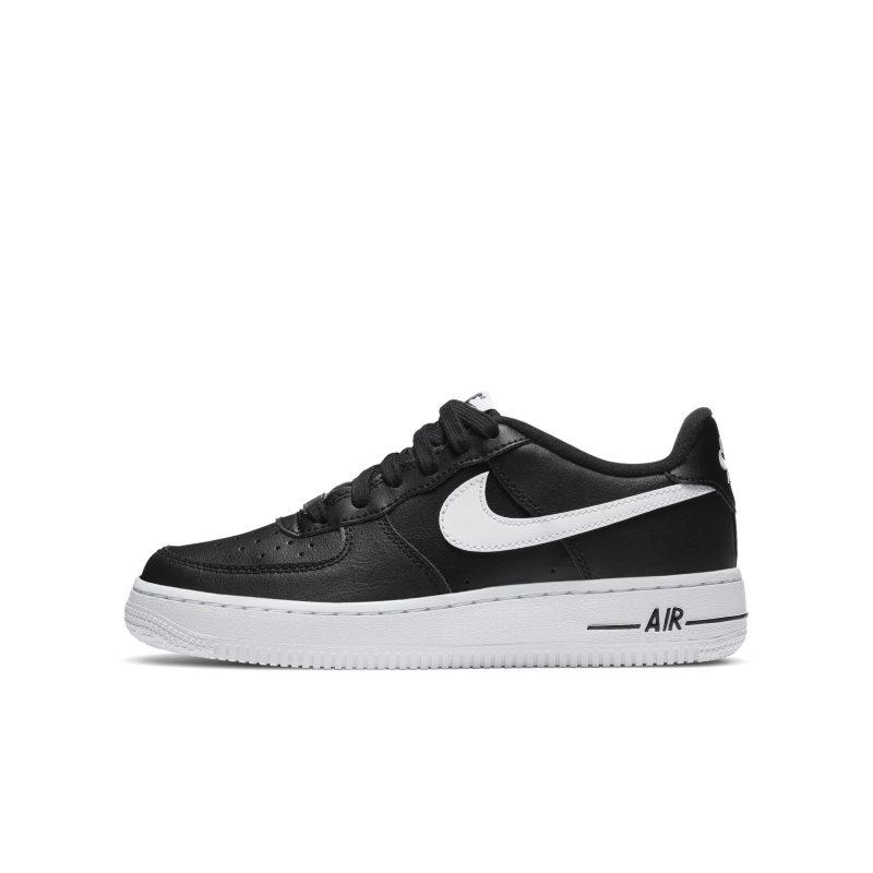Nike Air Force 1 Schuh für ältere Kinder Schwarz
