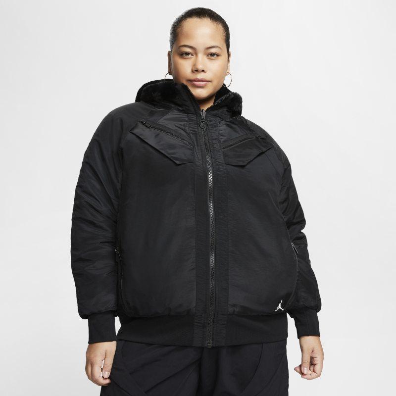 Nike Nike Plus Size - Jordan Womens Reversible Bomber Jacket - Black