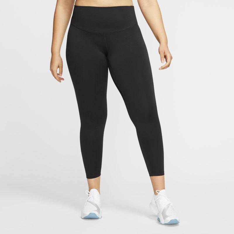 Nike One Legging voor dames (Plus Size) - Zwart
