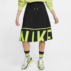 最新2020年2月新着!<ナイキ(NIKE)公式ストア>ナイキ スポーツウェア ウィメンズ メッシュ スカート CU4031-017 ブラック画像