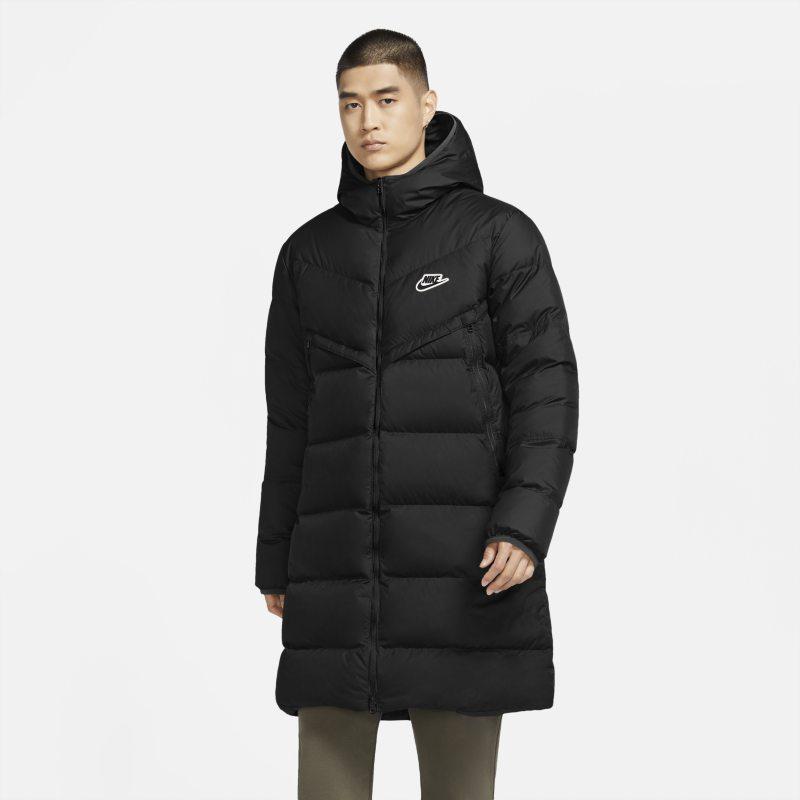 Nike Sportswear Down-Fill Windrunner Shield Parka voor heren - Zwart