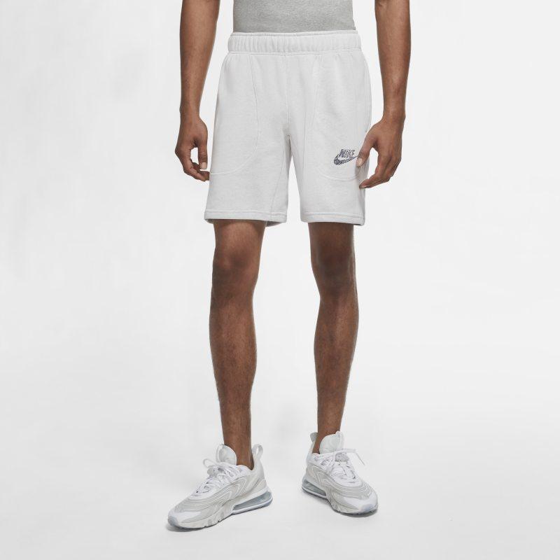 Nike Sportswear Herenshorts van sweatstof - Wit