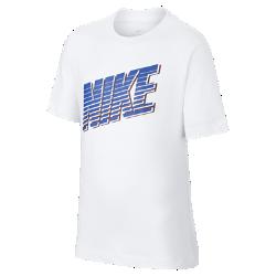 最新2020年2月新着!<ナイキ(NIKE)公式ストア>ナイキ スポーツウェア ジュニア Tシャツ CU4570-100 ホワイト画像