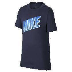 最新2020年2月新着!<ナイキ(NIKE)公式ストア>ナイキ スポーツウェア ジュニア Tシャツ CU4570-451 ブルー画像